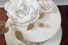 Derek & Daisy - Golden Anniversary Cake