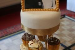 50 wonderful years - Golden Anniversary Cupcakes