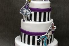 Paris - Wedding Anniversary Cake