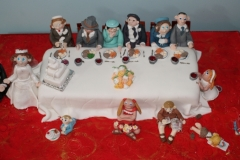 Top Table Wedding Anniversary Cake