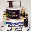 Kedington 25 Years Anniversary Birthday Cake