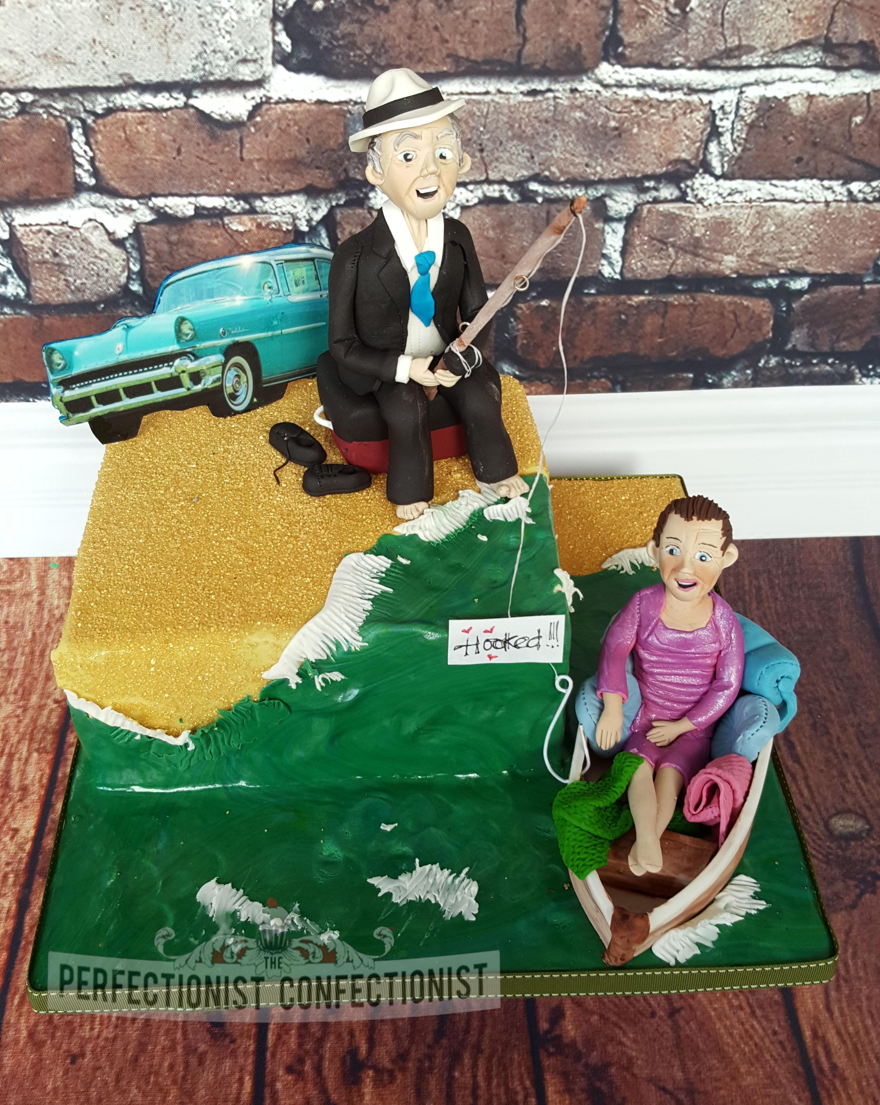 Michelle - Wedding Anniversary Cake