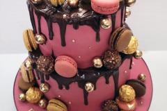 Laura - Macaron Birthday Cake