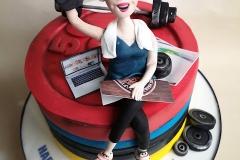 Elaine - CrossFit Birthday Cake