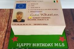 Cian - Fake ID Birthday Cake