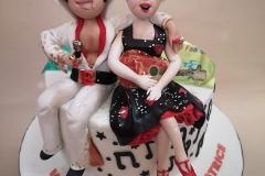 Beatrice - and Elvis Birthday Cake