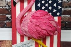 Graeme - Flamingo Birthday Cake