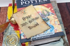 Sinéad (and Brendan) Harry Potter Birthday (Engagement) Cake