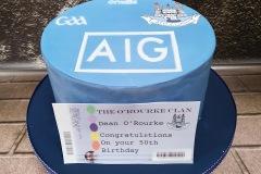 Dean - Dublin GAA Birthday Cake