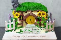 Sarah - Hobbit House Birthday Cake