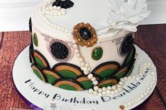 Dearbhla - Art Deco Birthday Cake