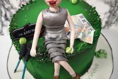 Yvonne - Glamorous Hill Walker Birthday Cake