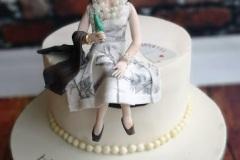 Kate - Glamorous 60th Birthday Cake
