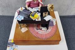 Catherine - Tunnock Lover's Birthday Cake