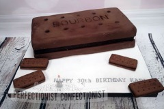 Karl - Giant Bourbon Biscuit Birthday Cake