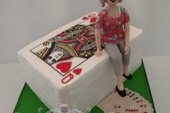 Deirdre - Bridge Birthday Cake