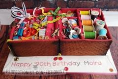 Moira - Sewing Box Birthday Cake
