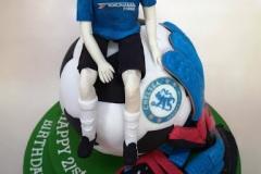 Dylan - Chelsea 21st Birthday Cake