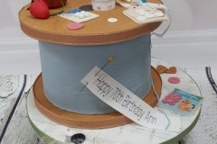 Ann - Sewing Birthday Cake