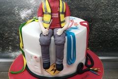 Michael - Electrician 21st Birthday Cake