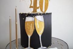 elegant-champagne-ombre-black-bubbles-40th-birthday-cake-birthday-cake-classical-dublin-swords-malahide-8