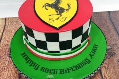 Alan - Ferrari Birthday Cake