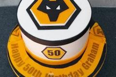 Graham - Wolves Birthday Cake