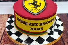 Kilian - Formula 1 Ferrari Birthday Cake