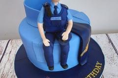Fiona - Garda Birthday Cake