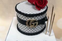 Ellen - Gucci Birthday Cake