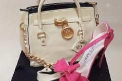 Marisa - 40th Birthday Handbag and Shoe Cake