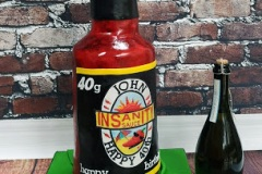 John - Dave's Insanity Hot Sauce Birthday Cake