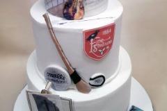 Cliona - Art, GAA and music themed Birthday Cake