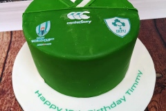 Timmy - Ireland Rugby World Cup 2019 Jersey Birthday Cake