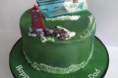 Irish Ferries Birthday Cake