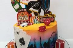 Jo - Las Vegas Birthday Cake