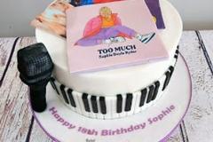 Sophie - Musical 18th Birthday Cake