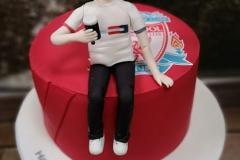 Eoghan  - Liverpool 21st  Birthday Cake