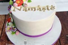 Paula - Namaste Birthday Cake
