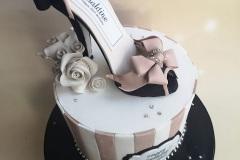 Ger - Bling Shoe Birthday cake
