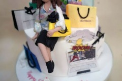 Susan - Shopping / Fashionista Birthday Cake
