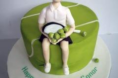 Conor - 21st Birthday Tennis Cake
