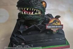 Darragh - Jurassic Park PlayStation Birthday Cake