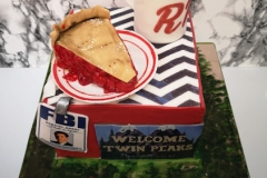 Rioghnach - Twin Peaks Birthday Cake