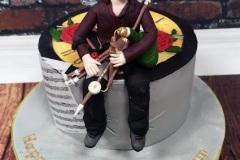 Bryan - Uileann Pipes Birthday Cake