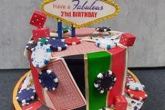 Maurice - Fabulous Las Vegas Birthday Cake