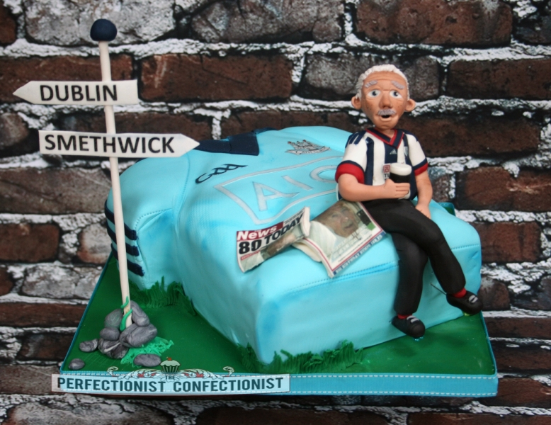 West Bromwich Albion Birthday Cake