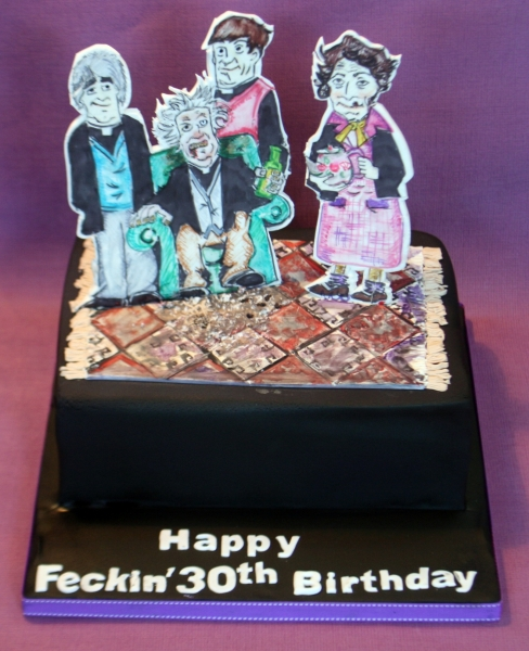 Father Ted Birthday Cake Image Inspiration of Cake and Birthday