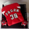 Fagan - Manchester Utd Shirt Birthday Cake