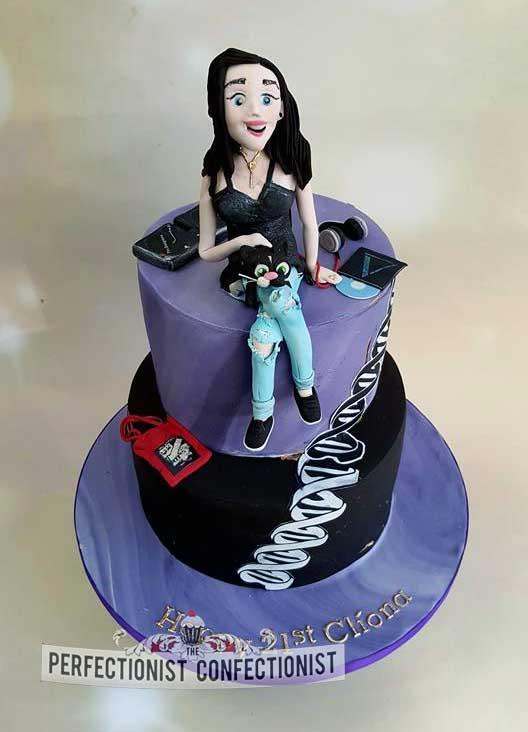 Cliona - 21st Birthday Cake
